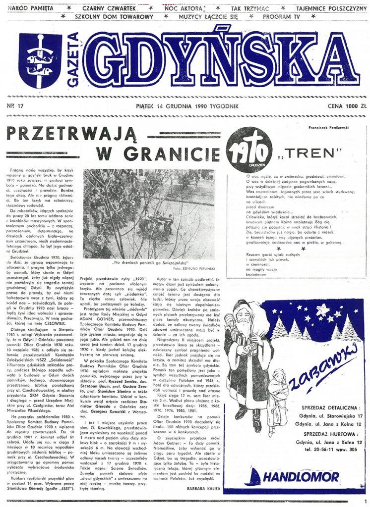 Gazeta Gdyńska. - 1990, nr 17