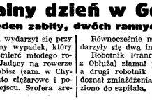 Feralny dzień w Gdyni. Jeden zabity, dwóch rannych // Gazeta Gdańska. - 1938, nr 244, s. 7