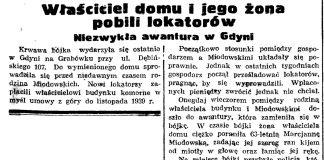 Właściciel domu i jego żona pobili lokatorów. Niezwykła awantura w Gdyni // Gazeta Gdańska. - 37, s. 7