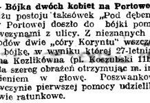 Bójka dwóch kobiet na Portowej // Gazeta Gdańska. - 1937, nr 37, s. 7