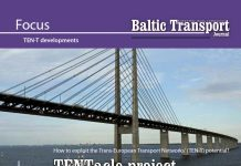 TENTacle project. How to exploit the Trans-European Transport Networks' (TEENT-T) potential? / Wiktor Szydarowski // Baltic Transport Journal. - 2016, nr 2, s. 43-45. - Il., map.