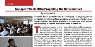 Transport Week 2016: Propelling the Baltic market / Maciej Kniter // Baltic Transport Journal. - 2016, nr 2, s. 58-59. - Il.