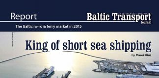 The Baltic ro-ro & ferry market in 2015 // Baltic Transport Journal. - 2016, nr 3, s. 27-31. - Il., map., tab.