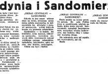 Gdynia i Sandomierz // Dzień Dobry. - 1937, nr 37, s. 2