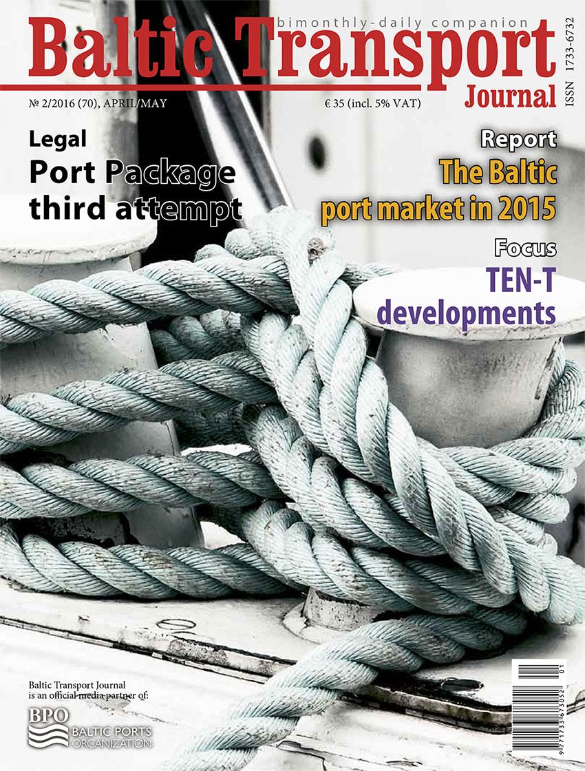 Baltic Transport Journal. - 2016, nr 2
