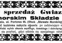 """Wielka sprzedaż Gwiazdkowa! w Nadmorskim Składzie Obuwia, Gdynia ul.Portowa 46 (obok """"Bławatu Morskiego"""") // Pomorzanin. - 1927, nr 149, s. 3"""