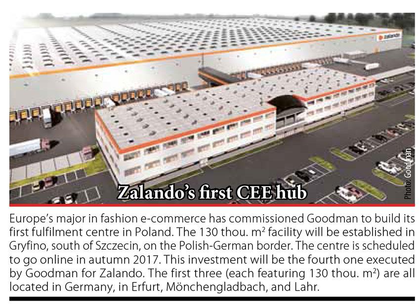 Zalando's first CEE hub // Baltic Transport Journal. - 2016, nr 5, s. 10