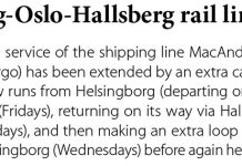 Helsingborg-Oslo-Hallsberg rail link upgrades// Baltic Transport Journal. - 2017, nr 2, s. 12