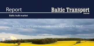 EU market for major crops / Alina Mironova. Baltic bulk market. Results of the 2015/2016 grain harvest-trade season, and prospects for 2016/2017 // Baltic Transport Journal. - 2016, nr 5, s. 28-31. - Il., map.