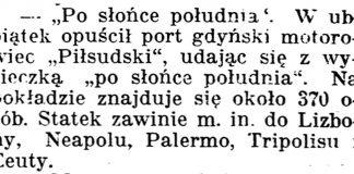 """[""""Po słońce południa""""] // Gazeta Kartuska. - 1939, nr 43, s. 2"""
