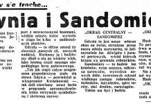 Gdynia i Sandomierz! Zastanówmy się trochę... // Dzień Dobry. - 1937, nr 37, s. 2