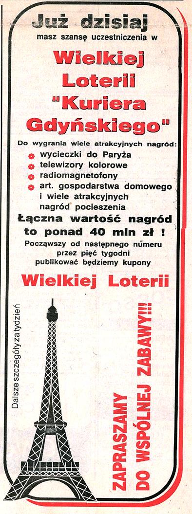 Już dzisiaj masz szansę uczestniczenia w Wielkiej Loterii