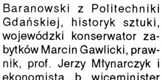 [Urbaniści: profesorowie ... // Kurier Gdyński. - 1992, nr 1, s. 2, 3[Urbaniści: profesorowie ... // Kurier Gdyński. - 1992, nr 1, s. 2, 3