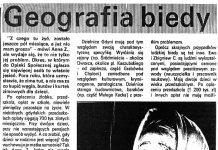 Geografia biedy / Urszula Szymańska // Kurier Gdyński. - 1992, nr 3. - Il.