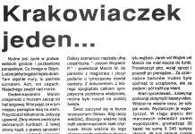 Krakowiaczek jeden ... // Szala // Kurier Gdyński. - 1992, nr 1, s. 5