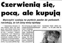 Czerwienią się, pocą, ale kupują / Małgorzata Sokołowska // Kurier Gdyński. - 1992, nr 1, s. 6. - Il.