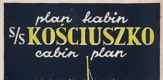 plan kabin s/s Kościuszko cabin plan