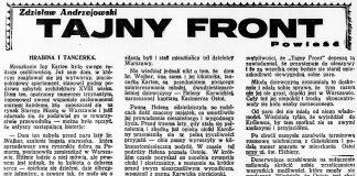 Tajny front / Zdzisław Andrzejewski // Dzień Dobry. - 1932, nr 165, s. 5