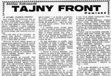 Tajny front / Zdzisław Andrzejewski // Dzień Dobry. - 1932, nr 168, s. 6