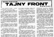 Tajny front / Zdzisław Andrzejewski // Dzień Dobry. - 1932, nr 169, s. 6