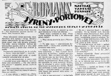 Romans syreny portowej. Powieść osnuta na tle wydarzeń Gdyni i wybrzeża / Tadeusz Denhoff. - 1938, nr 31, s. 4