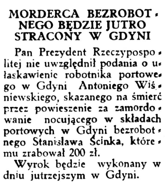 5ta RANO 1933, nr 150 s. 2