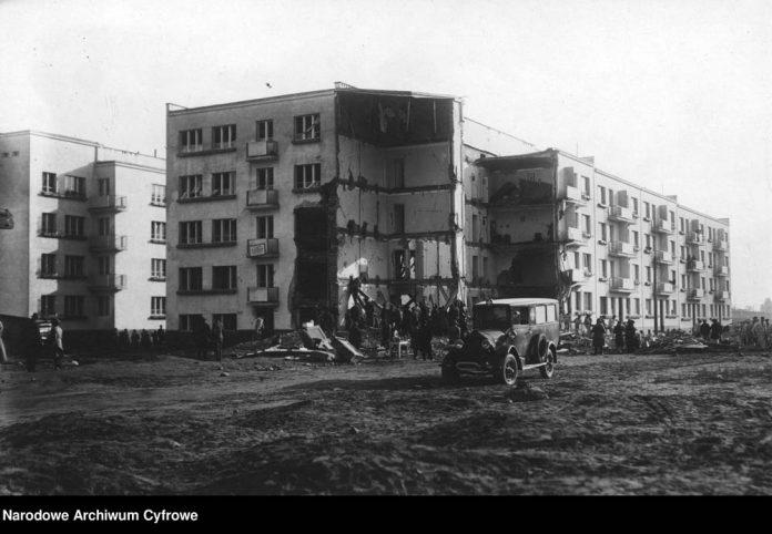 Eksplozja gazu w bloku mieszkalnym w Gdyni-