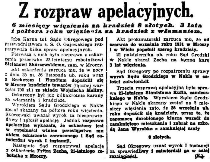 Z rozpraw apelacyjnych Gazeta-Bydgoska-1924-nr-45-s.-5