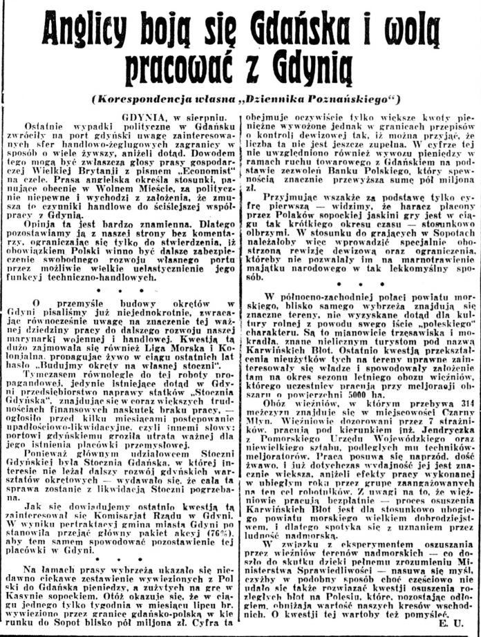 Kurjer Poznański 1936, nr 193, s. 2