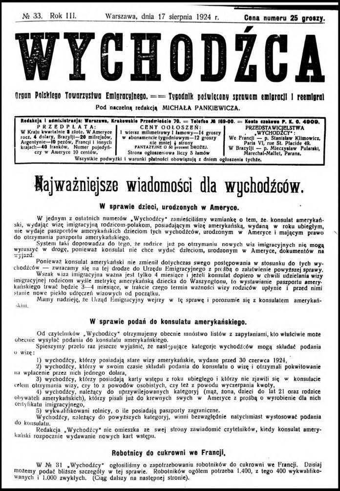 Wychodźca---tygodnik-poświęcony-sprawom-emigracji-1924,-nr-23-1