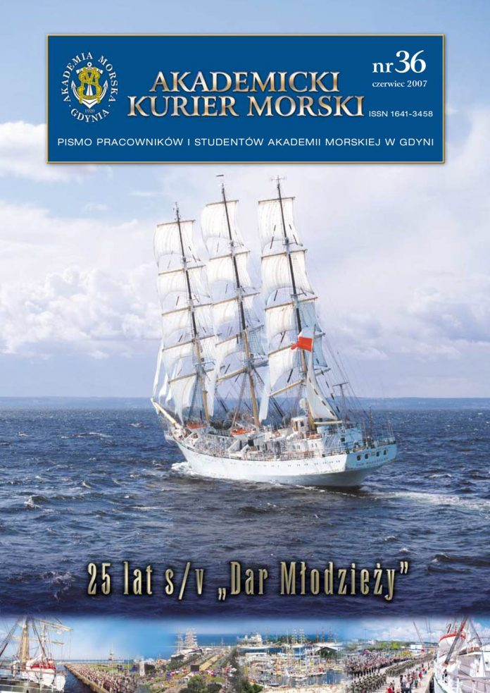 AKADEMICKI KURIER MORSKI. Pismo pracowników i studentów Akademii Morskiej w Gdyni – 2007, czerwiec, nr 36