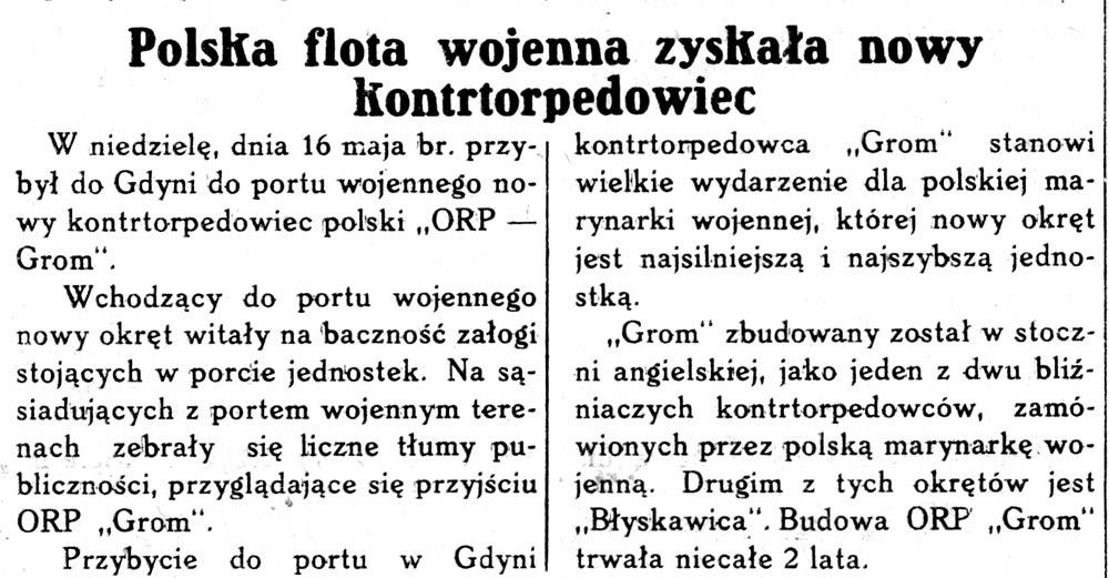 Obywatele hiszpańscy w Polsce // Wieś Polska. - 1937, nr 18, s. 3